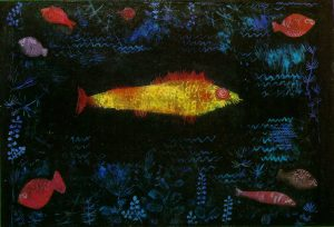 the-goldfish-1925 Paul Klee
